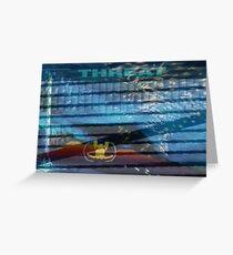 LawnTron #1 Greeting Card