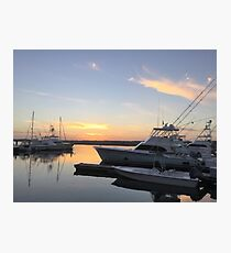 South Carolina Sunset Photographic Print