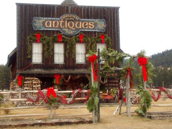 Red Christmas Ribbons von DeanzWorld