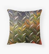 melted reflection Throw Pillow