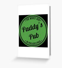Paddy's Pub Greeting Card