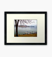 Flathead Lake Polson Montana Framed Print