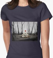 The Fire Fox Womens Fitted T-Shirt