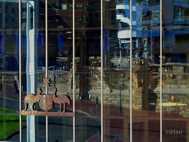 Reflections at Darling Harbour Sydney by mklau