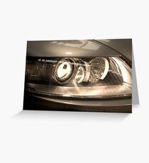 headlight Greeting Card