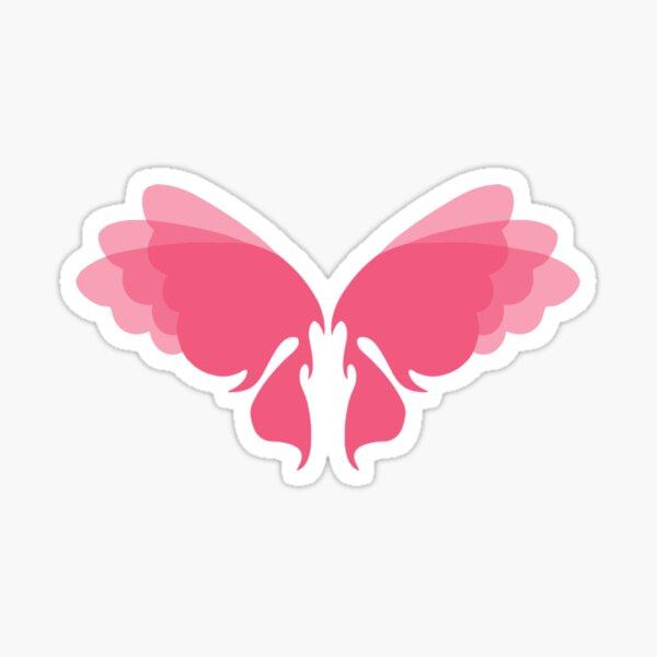 Lovely Lady Fairy Wings Sticker