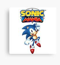 Sonic Mania Custom Design! Canvas Print