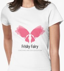 The Original Fairy Logo Women's Fitted T-Shirt