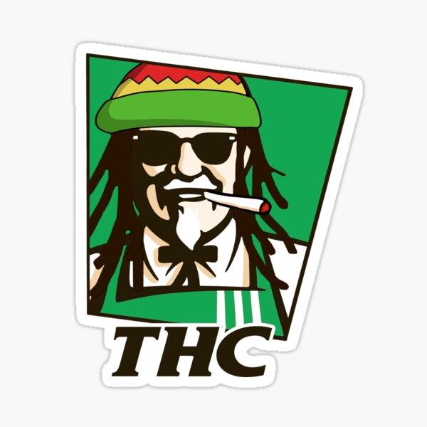 THC Sticker