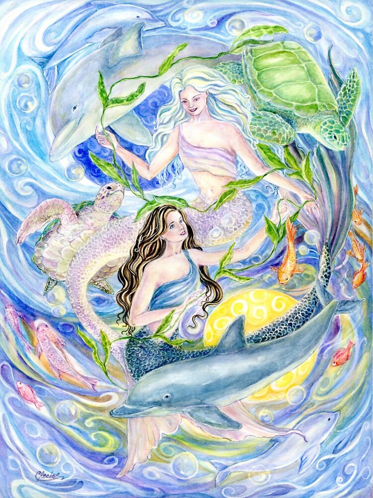 Yin Yang Meerjungfrauen von cristinahansen