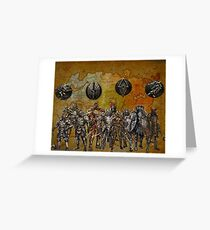tamriel worriers Greeting Card