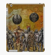 tamriel worriers iPad Case/Skin