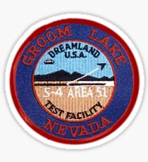 Groom Lake Sticker