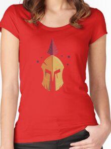 Spartan Helmet Women's Fitted Scoop T-Shirt