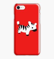 Cute Baby Zebra iPhone Case/Skin