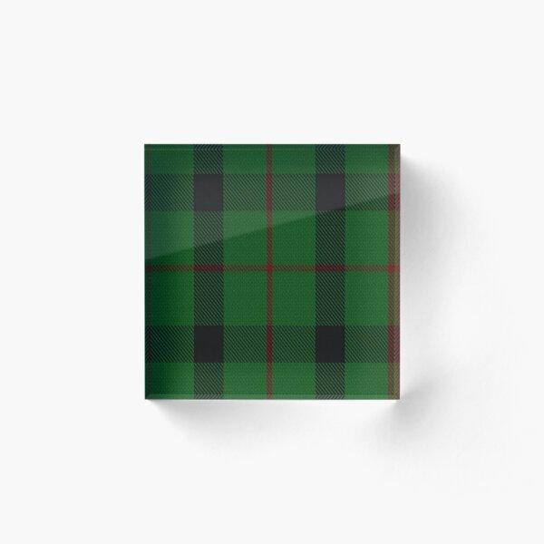 Kincaid of Kincaid Clan/Family Tartan  Acrylic Block