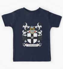 Copeland Coat of Arms Kids Tee