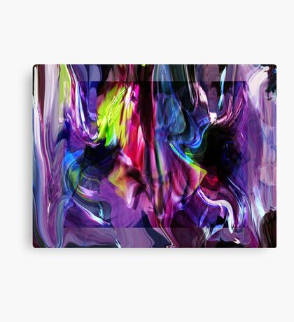 A Mess of Colour  Canvas Print