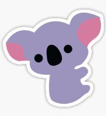 Cute baby koala Sticker