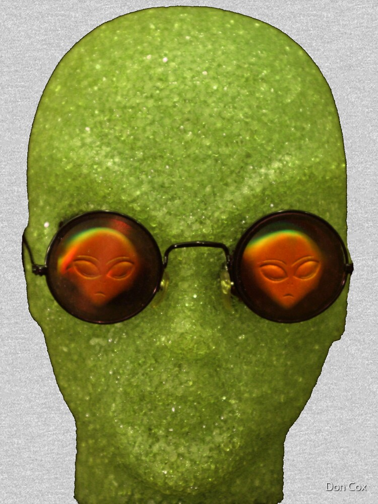 alien with alien glasses by DonCox
