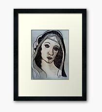 """MICHEALANGELO'S """"WOMAN"""" Framed Print"""
