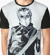Omega and His Guitar Graphic T-Shirt