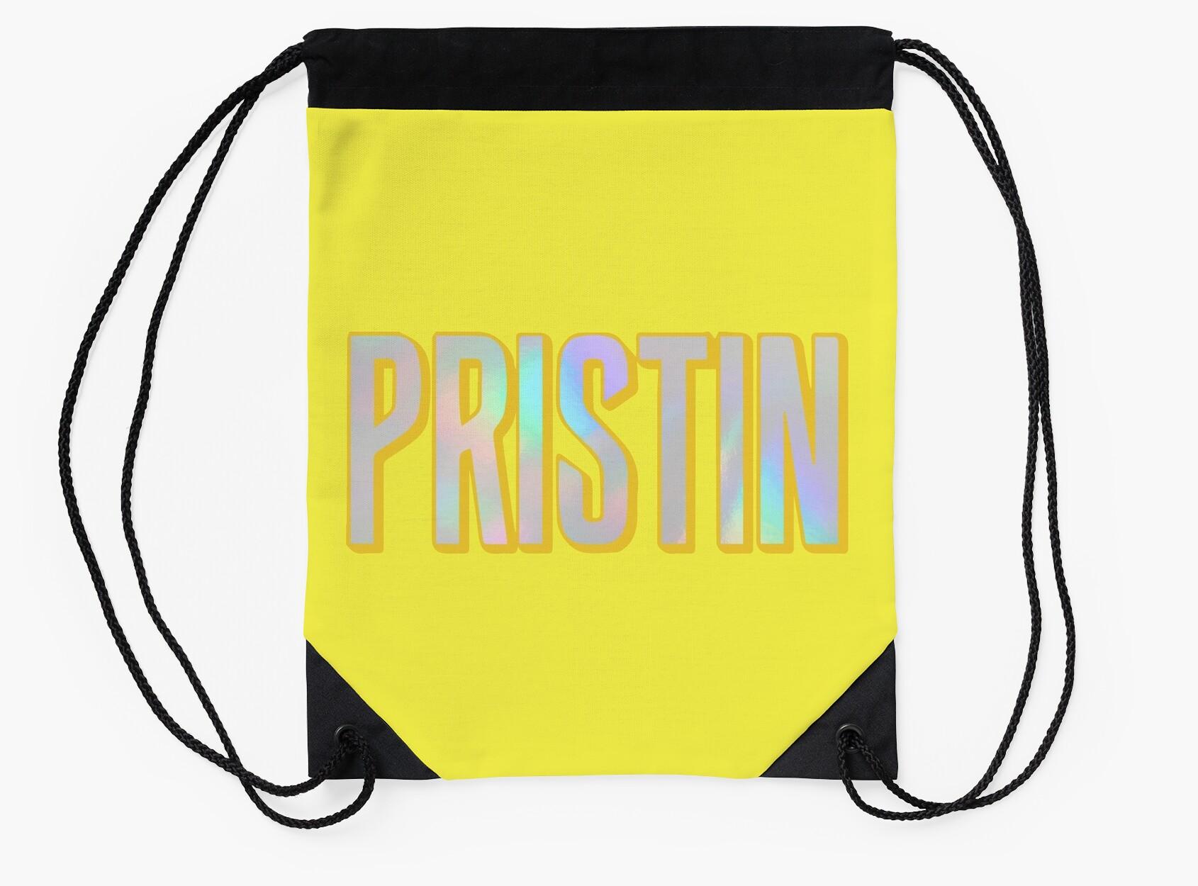 Pristin Holo Logo Yellow