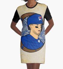 Troy Tulowitzki - Art Nouveau (Updated) Graphic T-Shirt Dress
