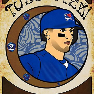 Troy Tulowitzki - Art Nouveau (Updated) by atedaryl