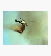 Bombs away!! Photographic Print