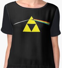 the dark side of the triforce Chiffon Top