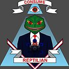 Consume Reptilian by EsotericExposal