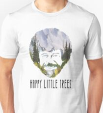 Bob Ross- happy little trees T-Shirt