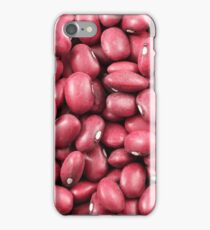 A close up image of dried red beans iPhone Case/Skin