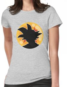 Dragon Ball Z™ Goku and the 4 Star Dragon Ball Womens Fitted T-Shirt