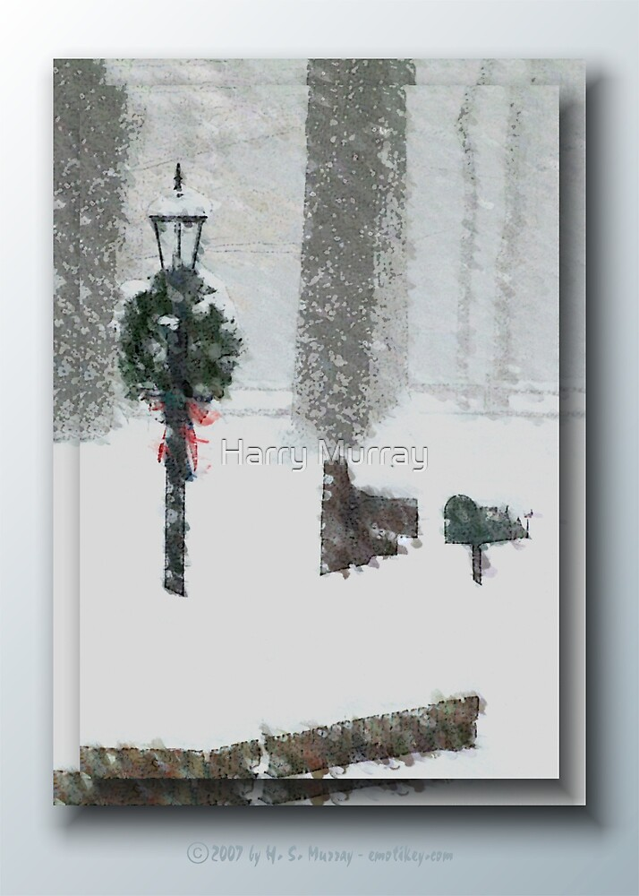 A Snowy Day by Harry Murray