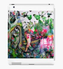 Riding on a swan iPad Case/Skin