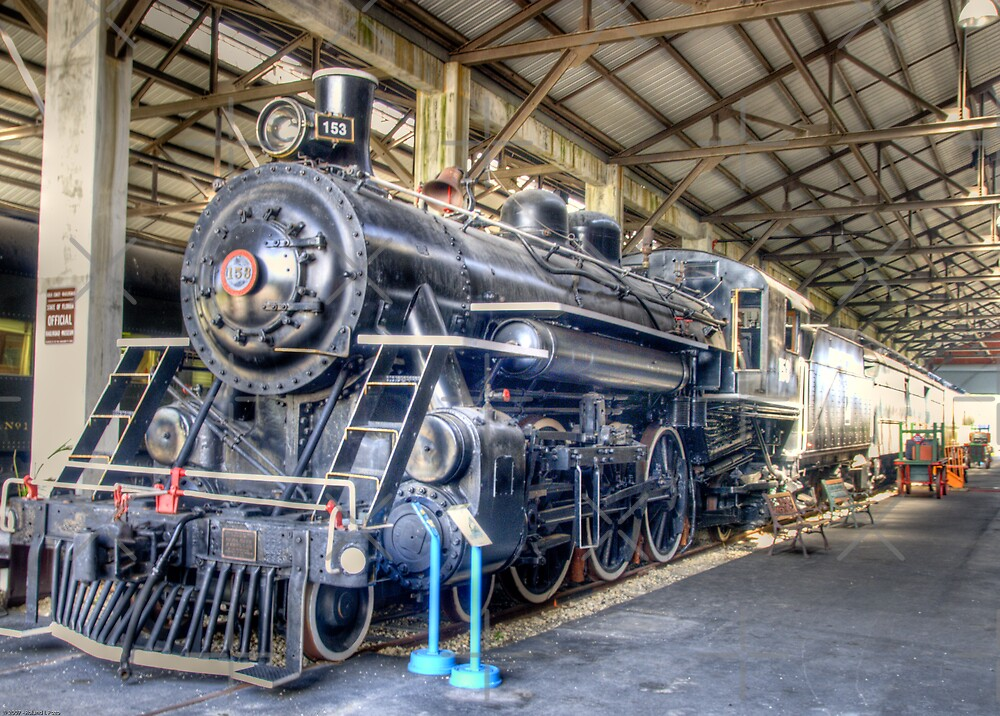 Engine Number 153 by photorolandi