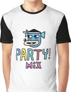 Party Mix Dog Graphic T-Shirt