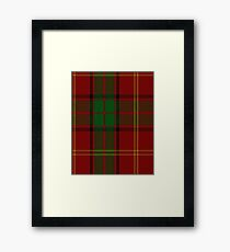 Kirk Clan/Family Tartan  Framed Print
