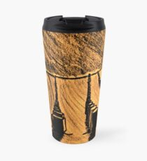 SHAPES IN THE SAND Travel Mug