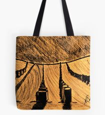 SHAPES IN THE SAND Tote Bag