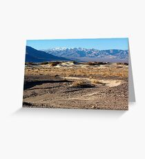 Awash in Death Valley Greeting Card