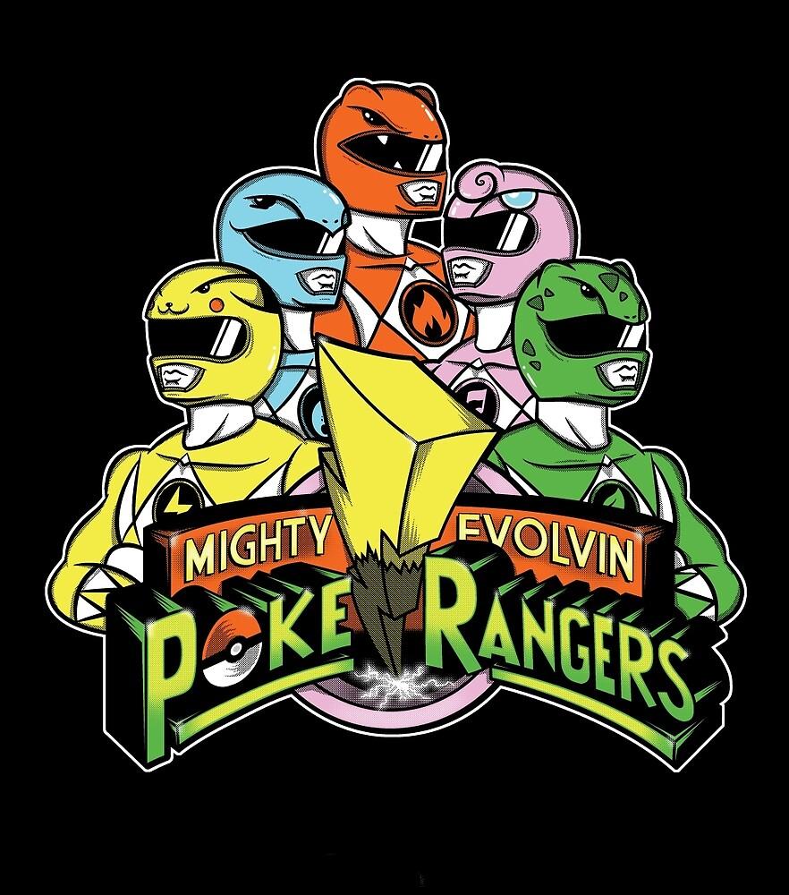 PokeRangers by CoDdesigns