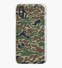 Green Camouflage Army Print iPhone Case/Skin