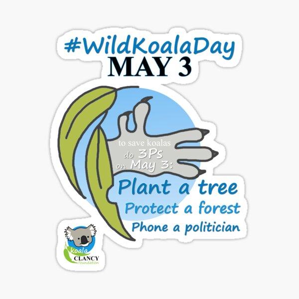 #wildkoaladay Sticker