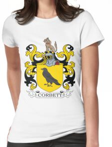 Corbett Coat of Arms Womens Fitted T-Shirt