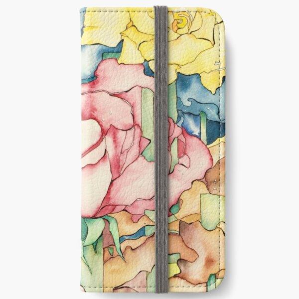 Rose Garden iPhone Wallet