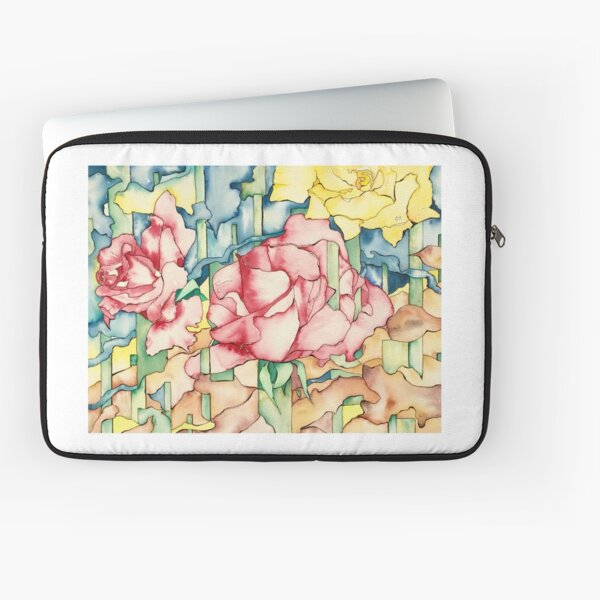 Rose Garden Laptop Sleeve