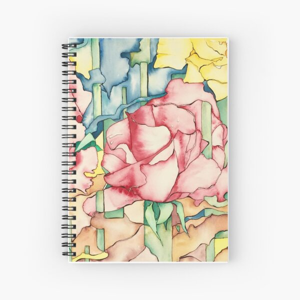 Rose Garden Spiral Notebook